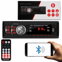 MP3 Automotivo Shutt Montana Bluetooth 1 Din