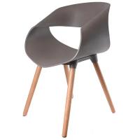 Cadeira Exeway Infinity com Encosto Vazado Marrom