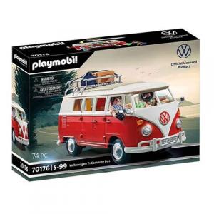 Brinquedo Playmobil Kombi Volkswagen T1 Camping Bus 74