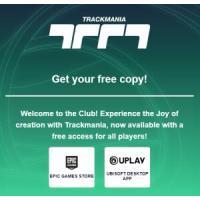 Trackmania de graça na Epic Games e na UPlay