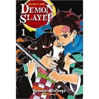 Mangá - 1° vol Demon Slayer
