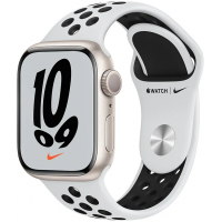 Apple Watch Nike Series 7 GPS, 41mm Caixa Estelar de Alu