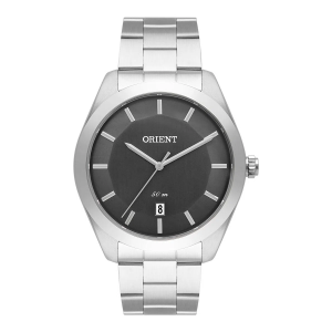 Relógio Orient Masculino Prateado Analógico MBSS1392