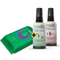 Bloqueador de odor Combo 1 FreeCô + Freewipes FreeCô PT