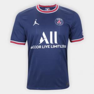 Camisa Paris Saint-Germain Home 21/22 s/n° Torcedor Nik