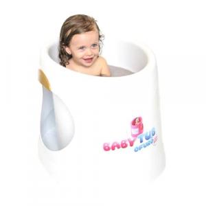 Banheira Babytub Ofurô Branco - Baby Tub[