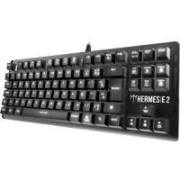 Teclado Mecânico Gamer Gamdias Hermes E2 Led White, Swit