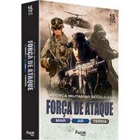 Box Força de Ataque: Mar + Ar + Terra (15 DVDs)