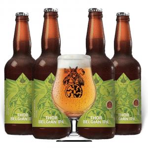 Kit de Cerveja OL Beer com 4 Unidades Thor Belgian Ipa