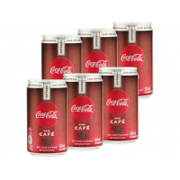 8 Packs Refrigerante Coca-Cola Café Espresso 220ml - 6 U