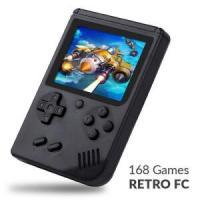 Mini Video Game Portátil 168 Jogos - R$ 40,99