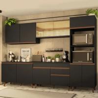 Cozinha Completa Reims 310001 com Armário e Balcão - Pr