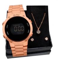 Relógio Feminino Euro Fashion Fit EUBJ3279AF/4J Rosé Go