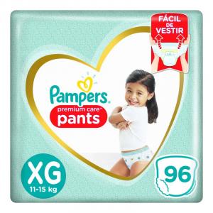 3 Pacotes Fralda Descartável Infantil Pants Pampers Prem