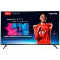 Smart TV LED 65´ UHD 4K TCL, 3 HDMI, 2 USB, Wi-Fi, HDR -