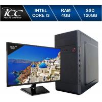 Computador Icc Iv2346sm15 Intel Core I3 4GB HD 120gb SS