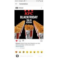 Black Friday KFC em Dobro