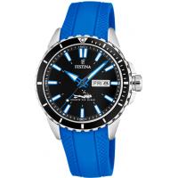 Relógio Festina Masculino Borracha Azul - F20378/3