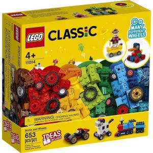 Lego Classic Blocos e Rodas 442 Peças - 11014