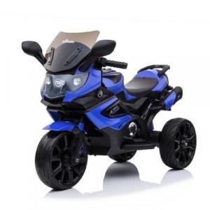 Mini Veículo Moto Elétrica Infantil Azul - Baby Style