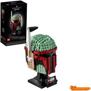 Brinquedo LEGO Star Wars Capacete de Boba Fett 625 Peça