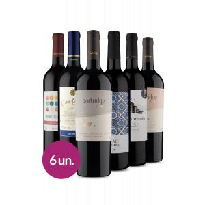 Kit Vinhos Best Sellers Wine - 6 Garrafas