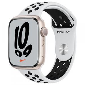 Apple Watch Nike Series 7 GPS 45mm Caixa Estelar de Alum