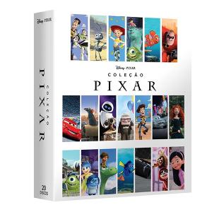 DVD Box Coleção Pixar 2018 - 20 DVDs