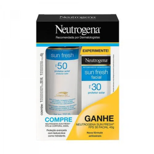Kit Neutrogena Sun Fresh Protetor Solar Corporal FPS50 2
