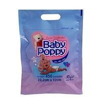 Lenços Umedecidos Baby Poppy Refil Balde 450 Unidades -