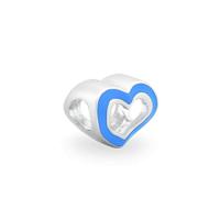 Pingente Life Coração Azul