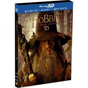 Blu-ray 2D + Blu-ray 3D - O Hobbit: Uma Jornada Inespera