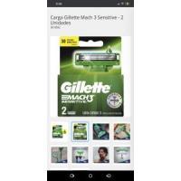 Carga Gillette Mach 3 Sensitive - 2 Unidades