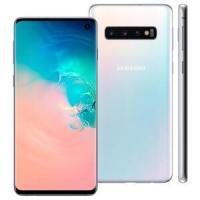 Smartphone Samsung Galaxy S10 Branco 128GB, 8GB RAM, Tel