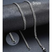 Colar de Aço Inoxidável 45cm