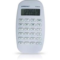 Calculadora Pessoal Procalc 8 Dig Visor Dot Matrix Branc