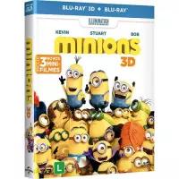 Blu-ray 3D Minions + Blu-ray