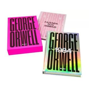 Box Livros George Orwell - 1984 e A Fazenda Dos Animais