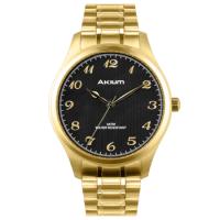Relógio Akium Masculino Aço Dourado - TMG6986N1B
