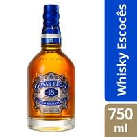Whisky Escocês Chivas Regal 18 anos  - 750ml