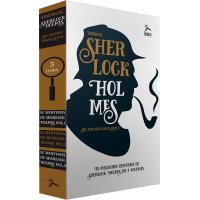 Box de Livros Sherlock Holmes: As Aventuras de Sherlock