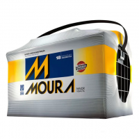Bateria Automotiva Moura M70KE Selada 70 Amperes Positiv
