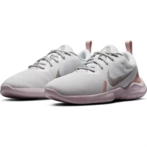 Tênis Nike Flex Experience RN 10 Feminino - Cinza+Rosa