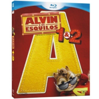 Blu-Ray Alvin e Os Esquilos + Alvin e os Esquilos 2
