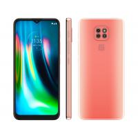 Smartphone Motorola Moto G9 Play 64GB Rosa Quartzo - 4G