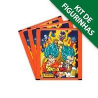 Kit de Figurinhas Dragon Ball Super Contém 50 cromos