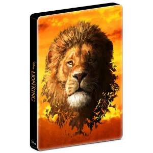 Steelbook - Blu-ray - O Rei Leão (2019)