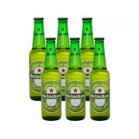 4 Packs Cerveja Heineken Long Neck Pilsen 330ml - 6 Unid