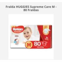 50% de desconto Fralda HUGGIES Supreme Care M