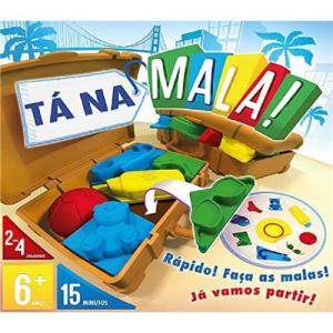 Jogo de Tabuleiro Tá na Mala! (4 Jogadores) - Galapagos